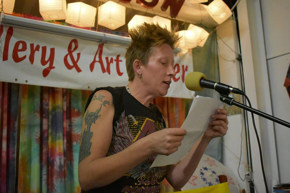 Grayson Art Gallery hosts a poetry slam once per month, building poets in Eastern Kentucky.