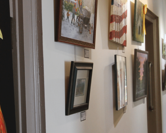 Garrard County Arts Council in Lancaster, Kentucky, is now in its permanent location.