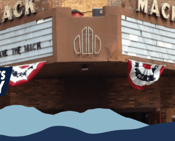 Save the Mack in Irvine, Kentucky, is an effort to restore the Mack Theatre.