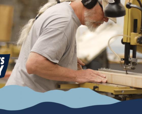 Troublesome Creek Stringed instrument company in Knott County in Eastern Kentucky.