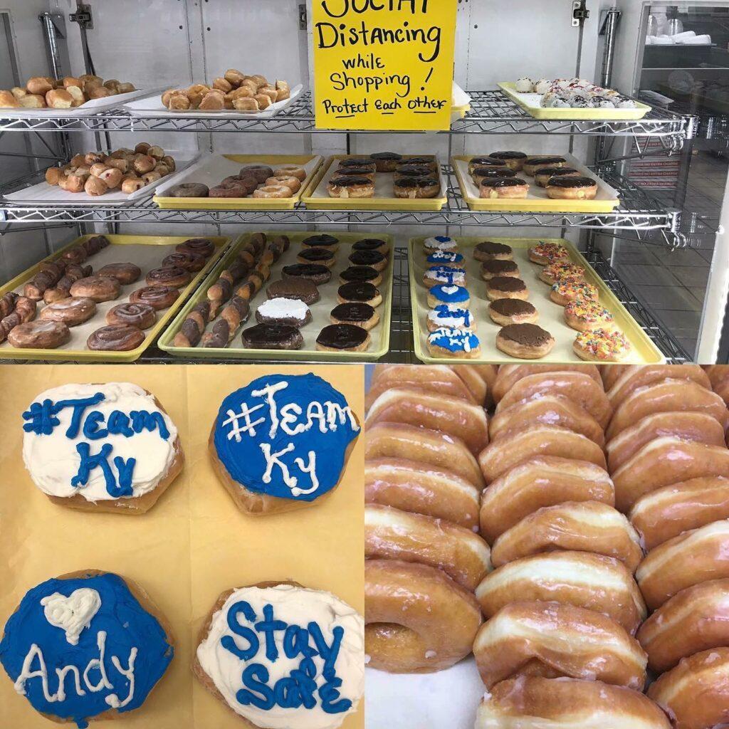 Pantry shelf donuts hazard kentucky solar grocery