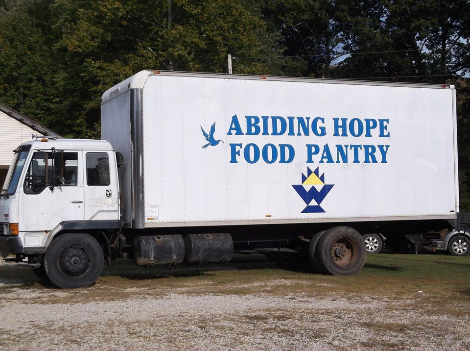 abiding hope food pantry truck