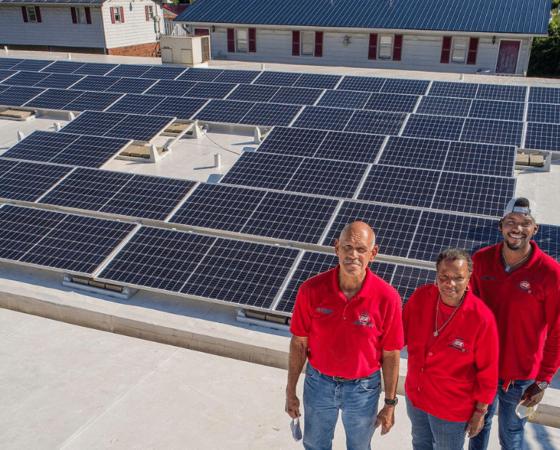 isom iga solar panels letcher eastern kentucky