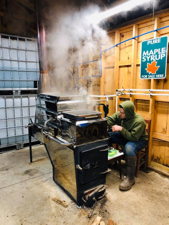 A morning making maple syrup in Eastern Kentucky. Seth and Sheryl Long of Southdown Farm live and work in Letcher County, Kentucky.